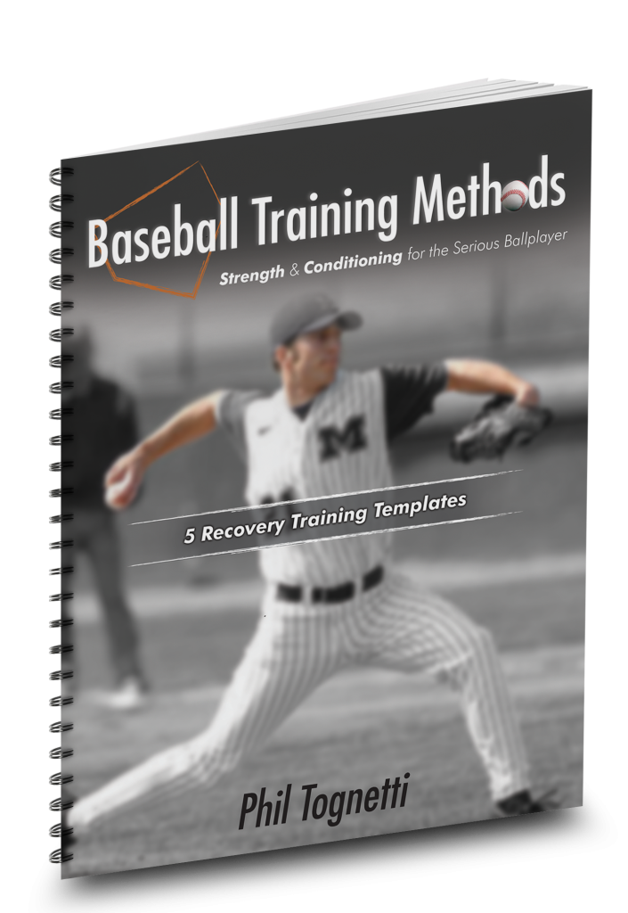 Recovery Training for Baseball